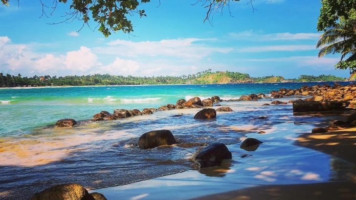 Talalla Beach, Talalla, Sri Lanka.
