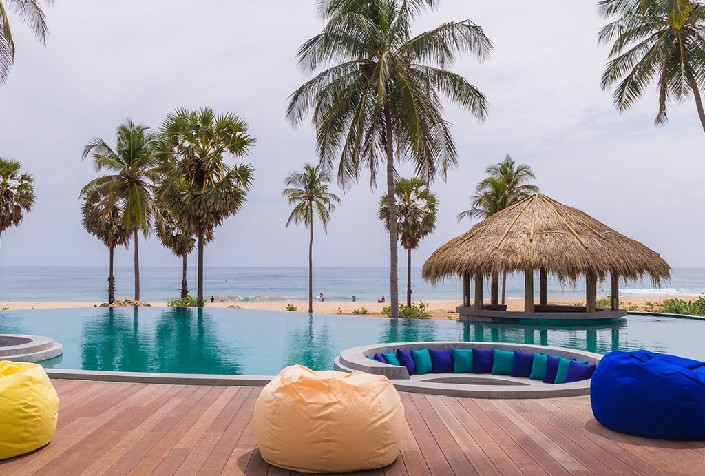 Beach Hotel in Arugam Bay Sri Lanka